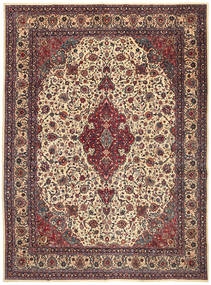 Mashad Patina Rug 302X408 Authentic  Oriental Handknotted Light Brown/Dark Blue Large (Wool, Persia/Iran)