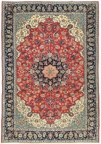 Najafabad Patina Rug 265X380 Authentic  Oriental Handknotted Dark Purple/Dark Grey Large (Wool, Persia/Iran)