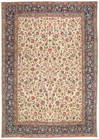 Kerman Patina Rug 290X405 Authentic  Oriental Handknotted Brown/Light Brown Large (Wool, Persia/Iran)