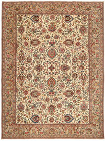 Tabriz Patina Rug 295X395 Authentic  Oriental Handknotted Light Brown/Brown Large (Wool, Persia/Iran)