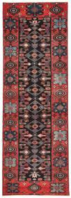 Saveh Patina Rug 100X303 Authentic  Oriental Handknotted Hallway Runner  Dark Red/Black (Wool, Persia/Iran)