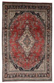 ハマダン シャフバフ パティナ 絨毯 208X328 オリエンタル 手織り 薄茶色/濃いグレー (ウール, ペルシャ/イラン)