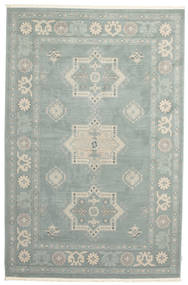 Kazak Lafayette Rug 200X300 Oriental Light Grey/Dark Grey ( Turkey)
