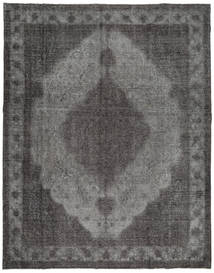 Colored Vintage Rug 293X373 Authentic  Modern Handknotted Dark Grey/Light Grey Large (Wool, Persia/Iran)