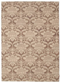 Himalaya Rug 175X245 Authentic  Modern Handknotted Light Brown/Light Pink (Wool, India)