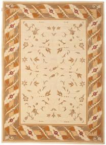 Himalaya Rug 205X281 Authentic  Modern Handknotted Dark Beige/Light Brown ( India)