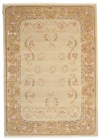 Himalaya Rug 203X289 Authentic  Modern Handknotted Dark Beige/Light Brown ( India)