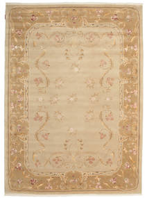 Himalaya Rug 205X282 Authentic  Modern Handknotted Light Brown/Dark Beige ( India)