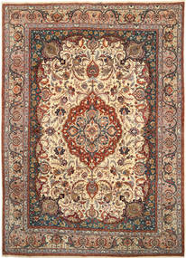 Kashmar Patina Teppe 250X350 Ekte Orientalsk Håndknyttet Lysbrun/Mørk Rød Stort (Ull, Persia/Iran)