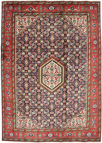 Ardebil Rug 200X295 Authentic Oriental Handknotted Brown/Dark Purple (Wool, Persia/Iran)