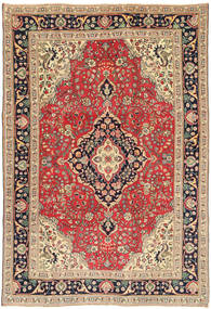 Tabriz Patina Rug 200X293 Authentic  Oriental Handknotted Light Brown/Brown (Wool, Persia/Iran)