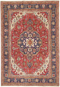 Tabriz Patina Rug 198X290 Authentic  Oriental Handknotted Light Brown/Brown (Wool, Persia/Iran)