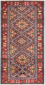 Saveh Patina Rug 148X288 Authentic  Oriental Handknotted Dark Grey/Light Pink (Wool, Persia/Iran)