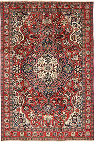 Bakhtiari Rug 205X310 Authentic  Oriental Handknotted Dark Red/Brown (Wool, Persia/Iran)