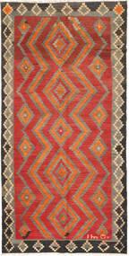 Kelim Fars Matto 145X290 Itämainen Käsinkudottu Vaaleanruskea/Ruoste (Villa, Persia/Iran)