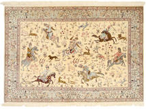 Qum silk pictorial carpet XVZH8