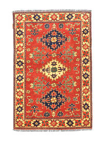 Afghan Kargahi Rug 101X148 Authentic  Oriental Handknotted Orange/Rust Red (Wool, Afghanistan)