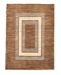 Ziegler Modern Rug 145X192 Authentic  Modern Handknotted Brown/Light Brown (Wool, Pakistan)