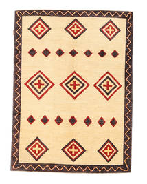 Ziegler Modern Rug 147X193 Authentic  Modern Handknotted Beige/Dark Brown (Wool, Pakistan)