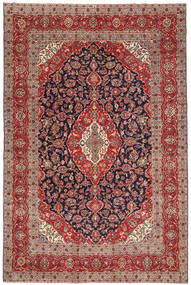 Keshan Patina Rug 240X360 Authentic  Oriental Handknotted Light Brown/Dark Purple (Wool, Persia/Iran)
