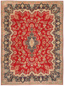 Kerman Patina Alfombra 291X390 Oriental Hecha A Mano Grande (Lana, Persia/Irán)