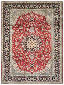 Najafabad Matto 252X340 Itämainen Käsinsolmittu Vaaleanruskea/Vaaleanharmaa Isot (Villa, Persia/Iran)