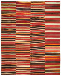 Kilim Patchwork Rug 232X297 Authentic Modern Handwoven Rust Red/Light Brown (Wool, Turkey)