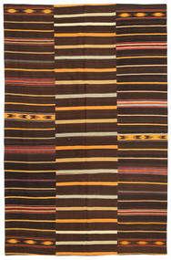 Kilim Patchwork Rug 173X267 Authentic  Modern Handwoven (Wool, Turkey)
