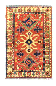 Afghan Kargahi Rug 99X152 Authentic  Oriental Handknotted Orange/Light Brown (Wool, Afghanistan)