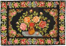 Rosenkelim Matta 195X292 Äkta Orientalisk Handvävd Mörkgrå/Olivgrön (Ull, Moldavien)