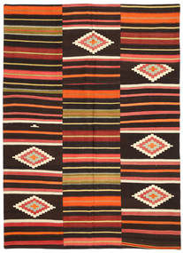 Kilim Patchwork Rug 175X241 Authentic  Modern Handwoven Dark Red/Rust Red (Wool, Turkey)