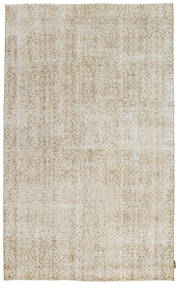 Colored Vintage Rug 155X248 Authentic  Modern Handknotted Light Grey/Light Brown (Wool, Turkey)