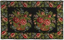 Rose Kelim Rug 194X321 Authentic  Oriental Handwoven Dark Green/Dark Brown (Wool, Moldova)