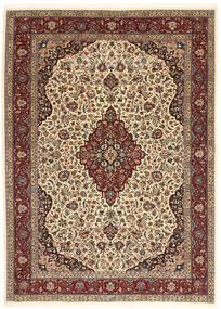 Ilam Sherkat Farsh Silke Matta 175X245 Äkta Orientalisk Handknuten Ljusbrun/Mörkbrun (Ull/Silke, Persien/Iran)
