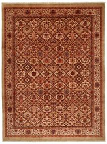 Jozan Matta 261X346 Äkta Orientalisk Handknuten Roströd/Ljusbrun Stor (Ull, Persien/Iran)