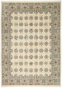 Ilam Sherkat Farsh Silke Teppe 250X350 Ekte Orientalsk Håndknyttet Lysbrun/Beige Stort (Ull/Silke, Persia/Iran)