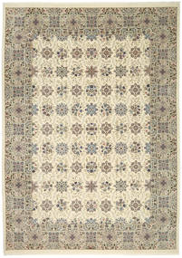 Ilam Sherkat Farsh Silk Rug 250X350 Authentic  Oriental Handknotted Light Brown/Beige Large (Wool/Silk, Persia/Iran)