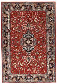 Ilam Sherkat Farsh Mătase Covor 140X210 Orientale Lucrat Manual Roșu-Închis/Albastru Închis (Lână/Mătase, Persia/Iran)