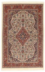 Ilam Sherkat Farsh Seide Teppich  104X160 Echter Orientalischer Handgeknüpfter Dunkelbraun/Hellbraun (Wolle/Seide, Persien/Iran)