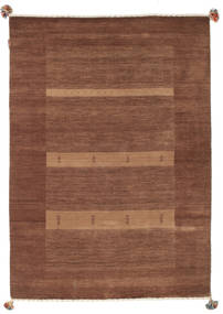 Loribaf Loom Matta 129X181 Äkta Modern Handknuten Mörkröd/Brun (Ull, Indien)