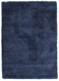 Shaggy Sadeh - Blue Rug 120X170 Modern Dark Blue ( Turkey)