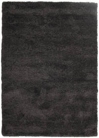 Shaggy Sadeh - Black/Grey Rug 160X230 Modern Black ( Turkey)
