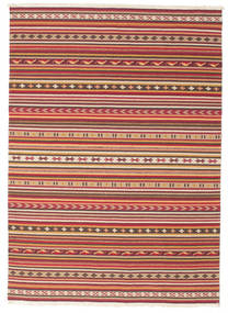 Kilim Dhurrie Varanasi with fringes carpet CVD13817