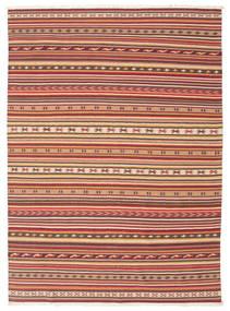 Kelim Dorri Varanasi met fringes tapijt CVD13819