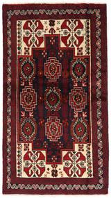 Beluch Covor 100X180 Orientale Lucrat Manual Roșu-Închis (Lână, Persia/Iran)