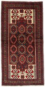Belouch Alfombra 105X205 Oriental Hecha A Mano Rojo Oscuro/Marrón Oscuro (Lana, Persia/Irán)