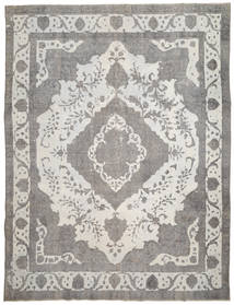 Colored Vintage Rug 288X380 Authentic  Modern Handknotted Light Grey/Dark Beige Large (Wool, Persia/Iran)