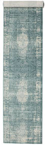 Jacinda - Light Rug 80X400 Modern Hallway Runner  Light Grey/Dark Grey ( Turkey)