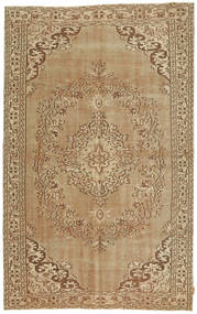 Colored Vintage Rug 163X260 Authentic  Modern Handknotted Light Brown/Dark Beige (Wool, Turkey)