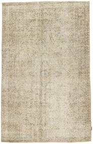 Colored Vintage Rug 164X261 Authentic  Modern Handknotted Light Brown/Dark Beige (Wool, Turkey)